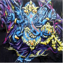 Ganesh_graffiti
